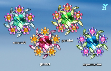 Jewel Flowers